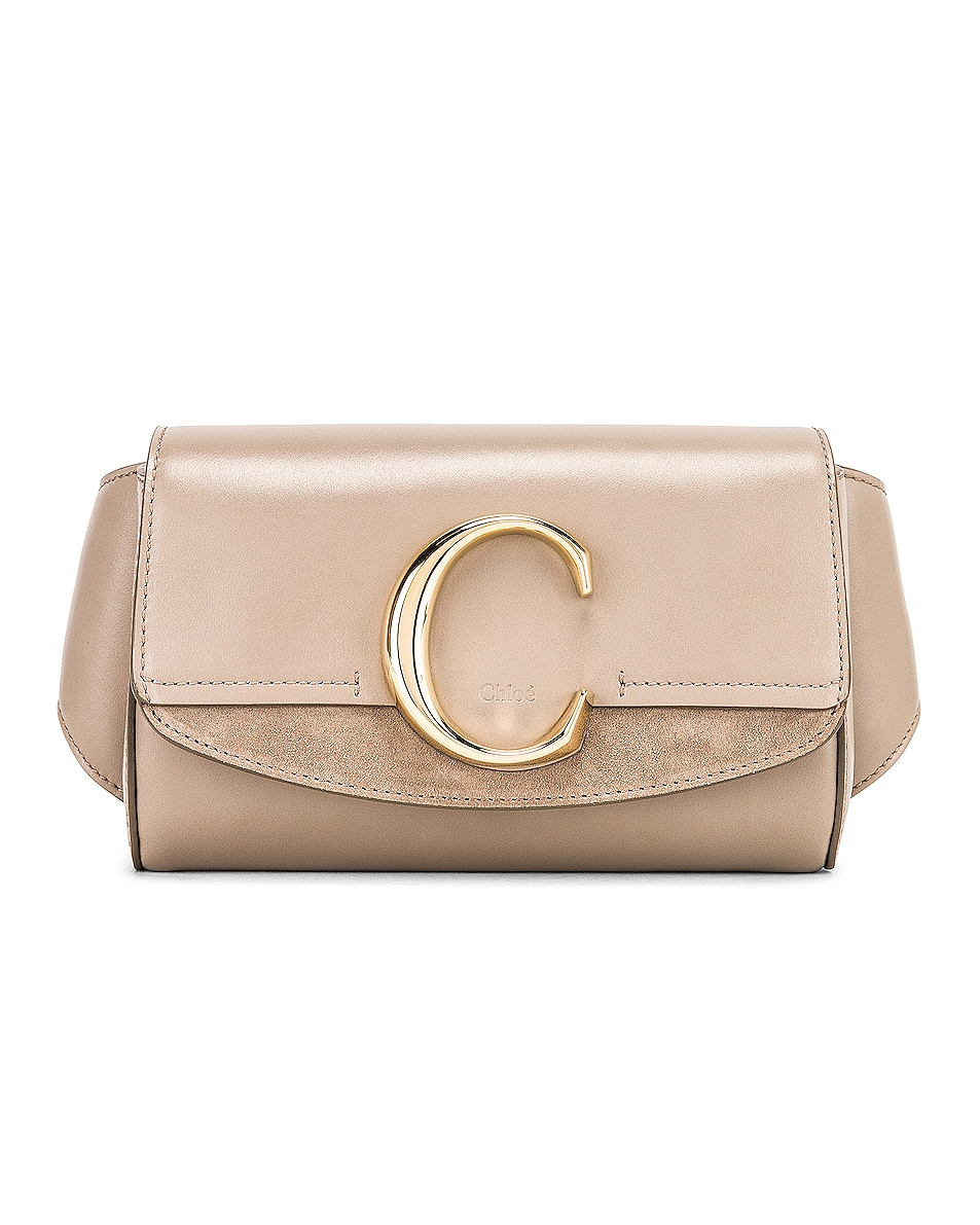 Image 1 of Chloe C Belt Bag in Motty Grey