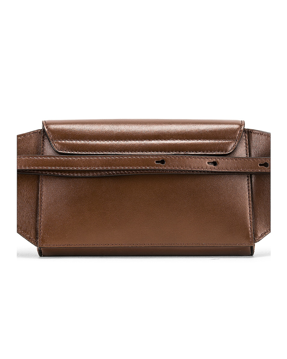 Image 3 of Chloe C Belt Bag in Sharp Brown