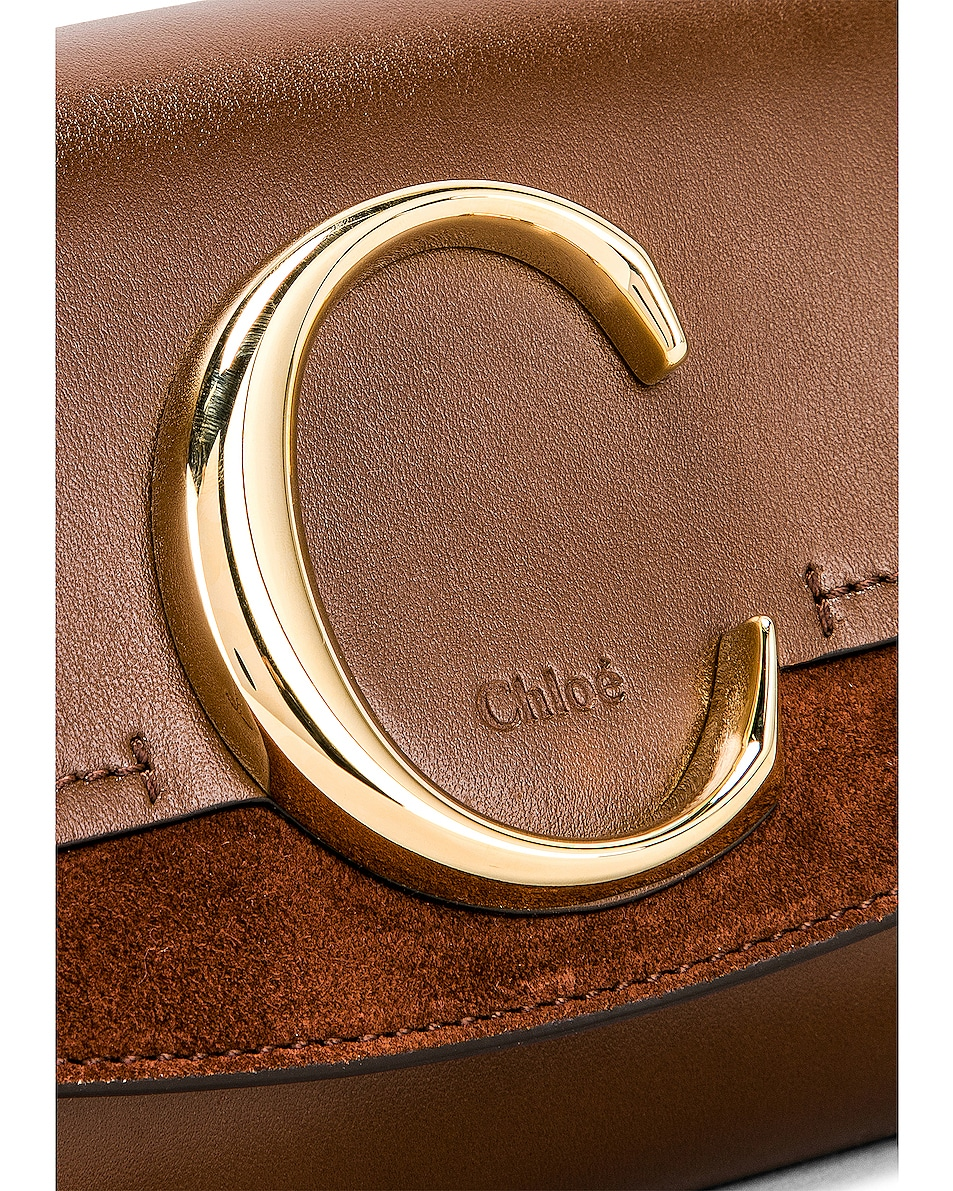 Image 7 of Chloe C Belt Bag in Sharp Brown