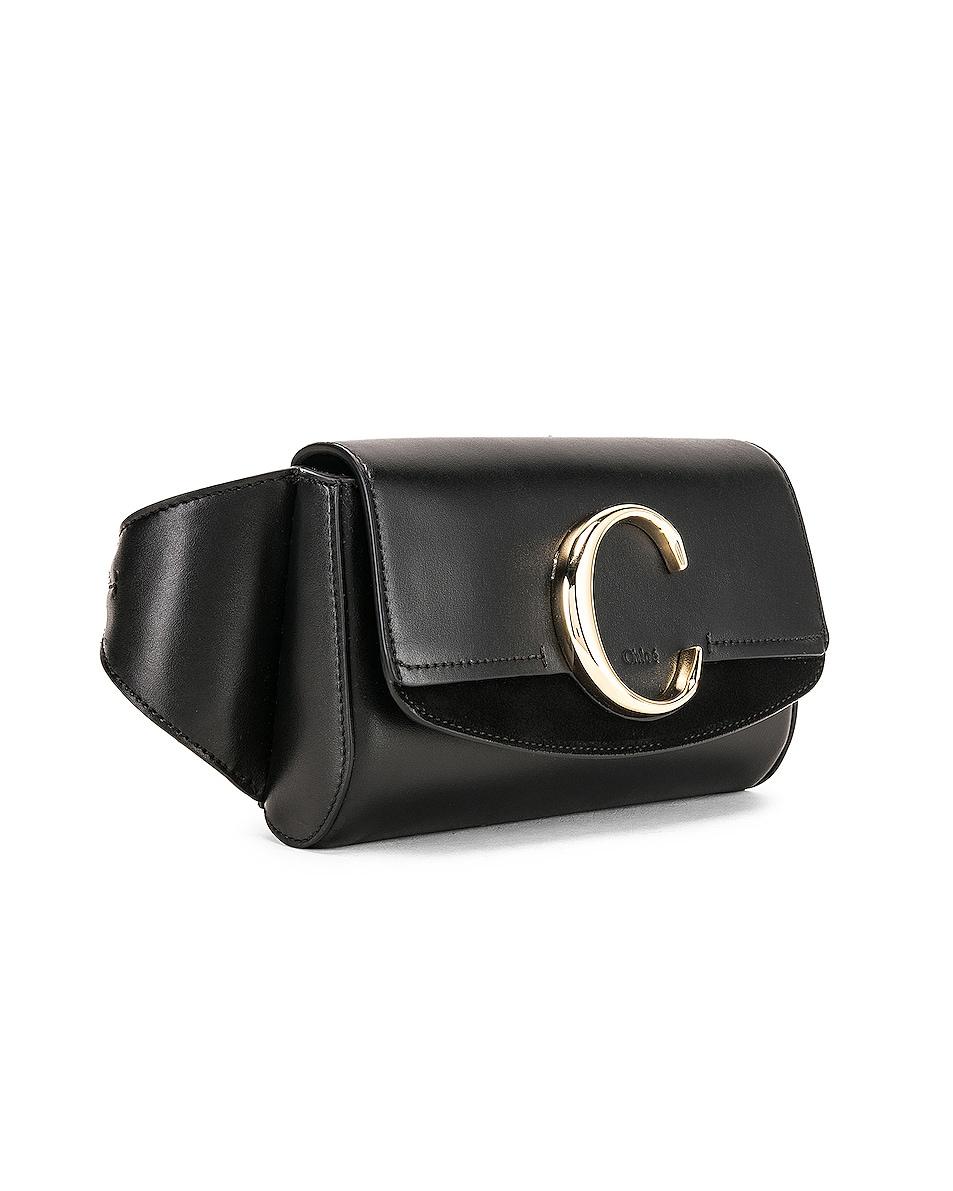 Image 4 of Chloe C Belt Bag in Black