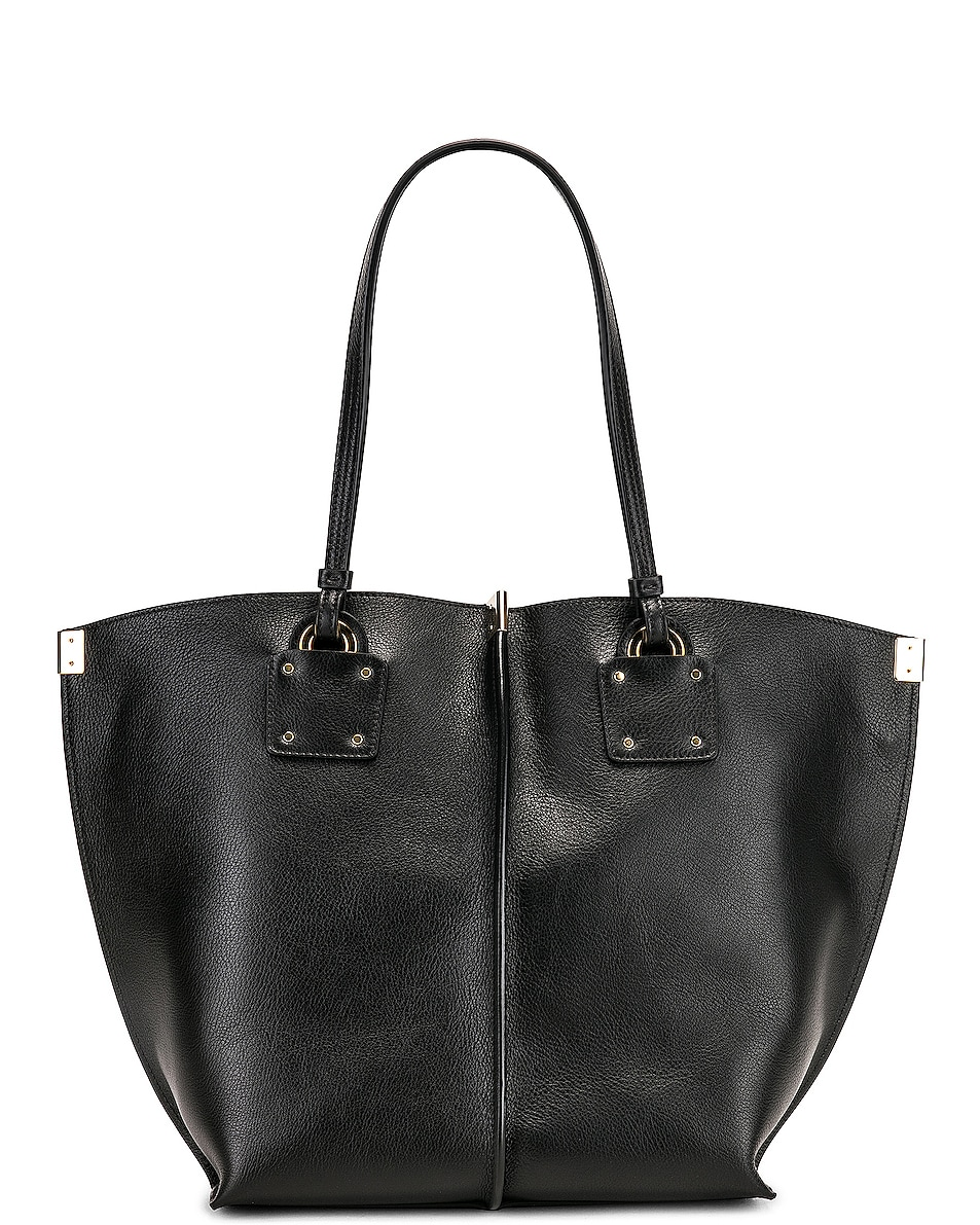 Image 3 of Chloe Medium Vick Tote in Black