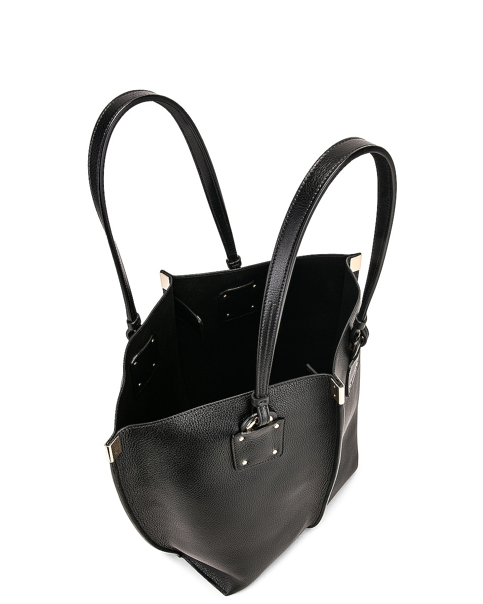 Image 5 of Chloe Medium Vick Tote in Black