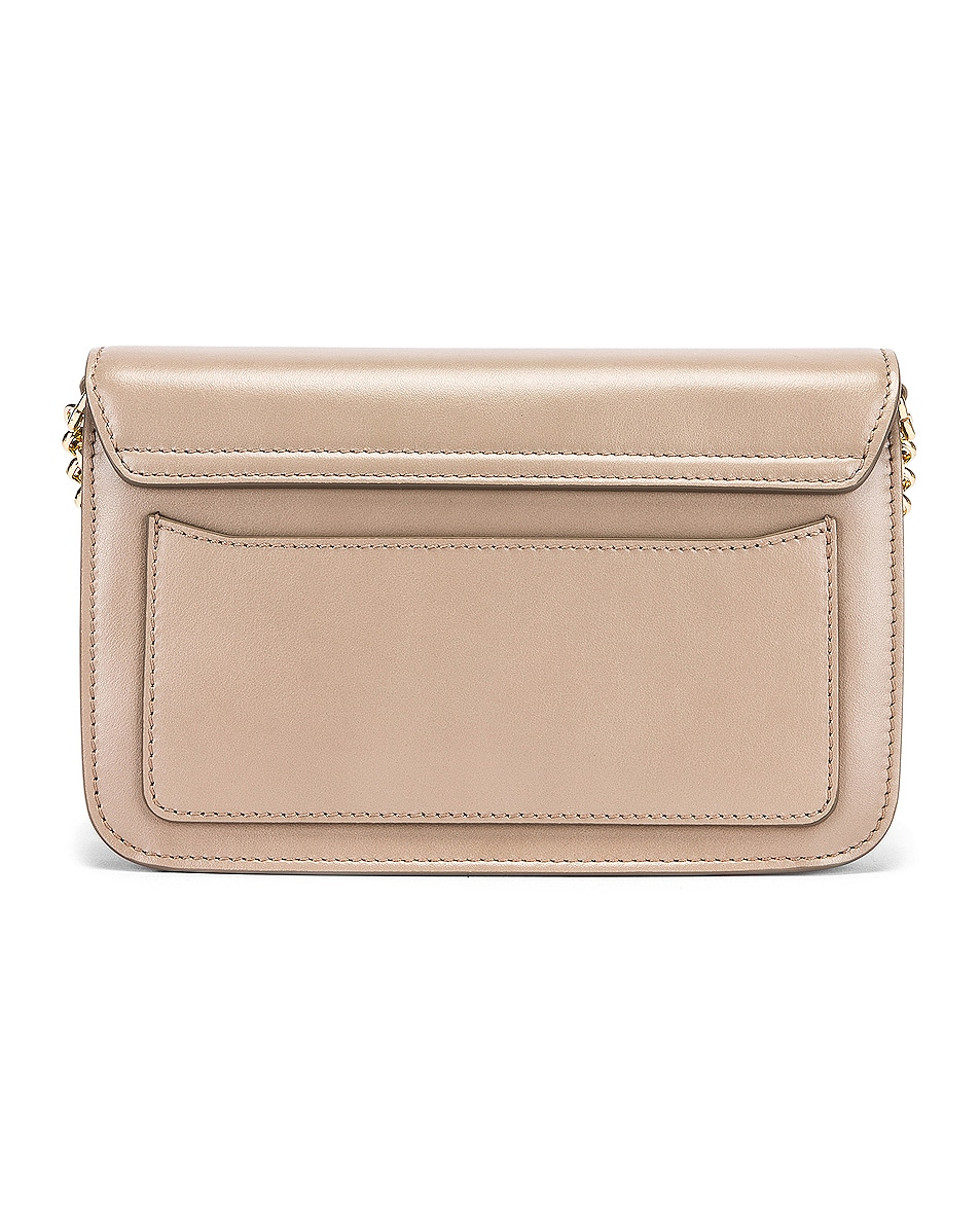 Image 3 of Chloe C Chain Clutch Bag in Motty Grey