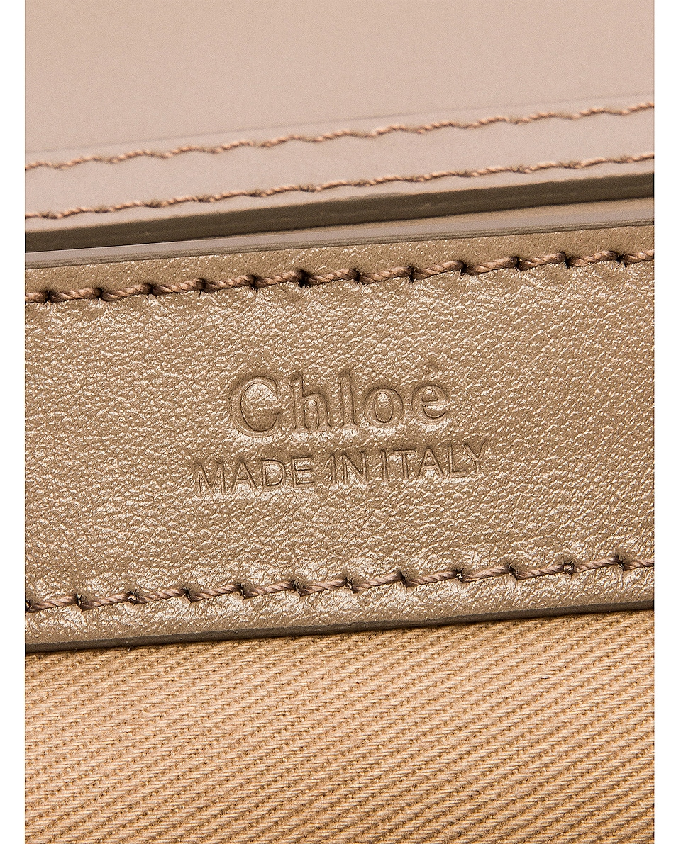 Image 7 of Chloe C Chain Clutch Bag in Motty Grey