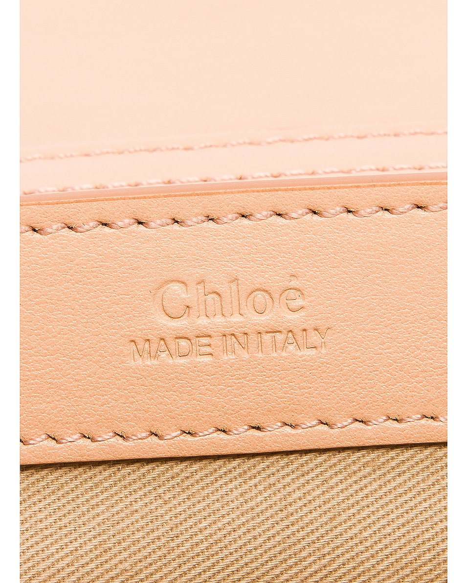 Image 7 of Chloe C Chain Clutch Bag in Delicate Pink