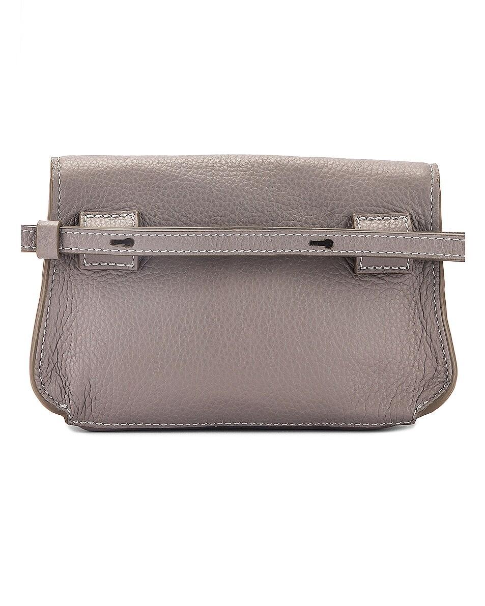 Image 3 of Chloe Marcie Belt Bag in Cashmere Grey