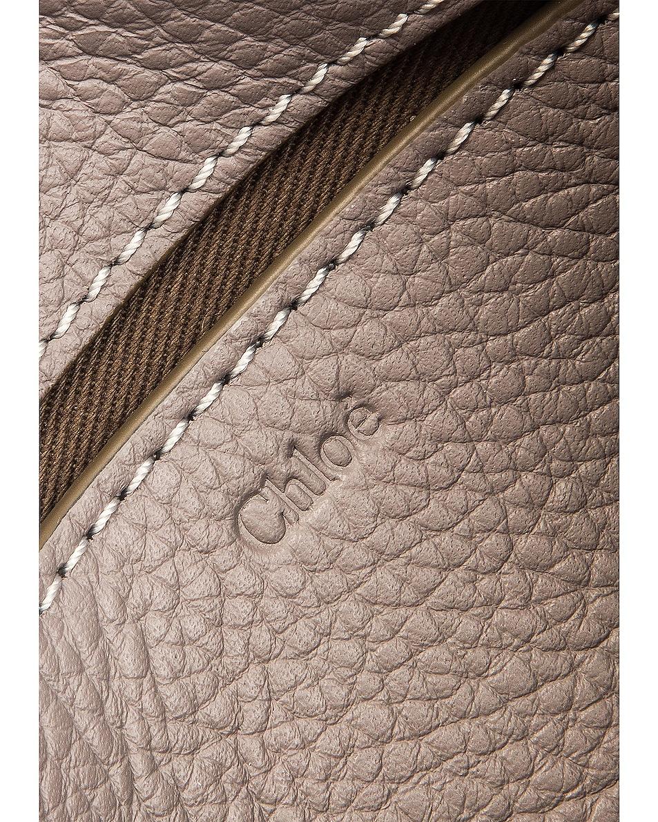 Image 6 of Chloe Marcie Belt Bag in Cashmere Grey