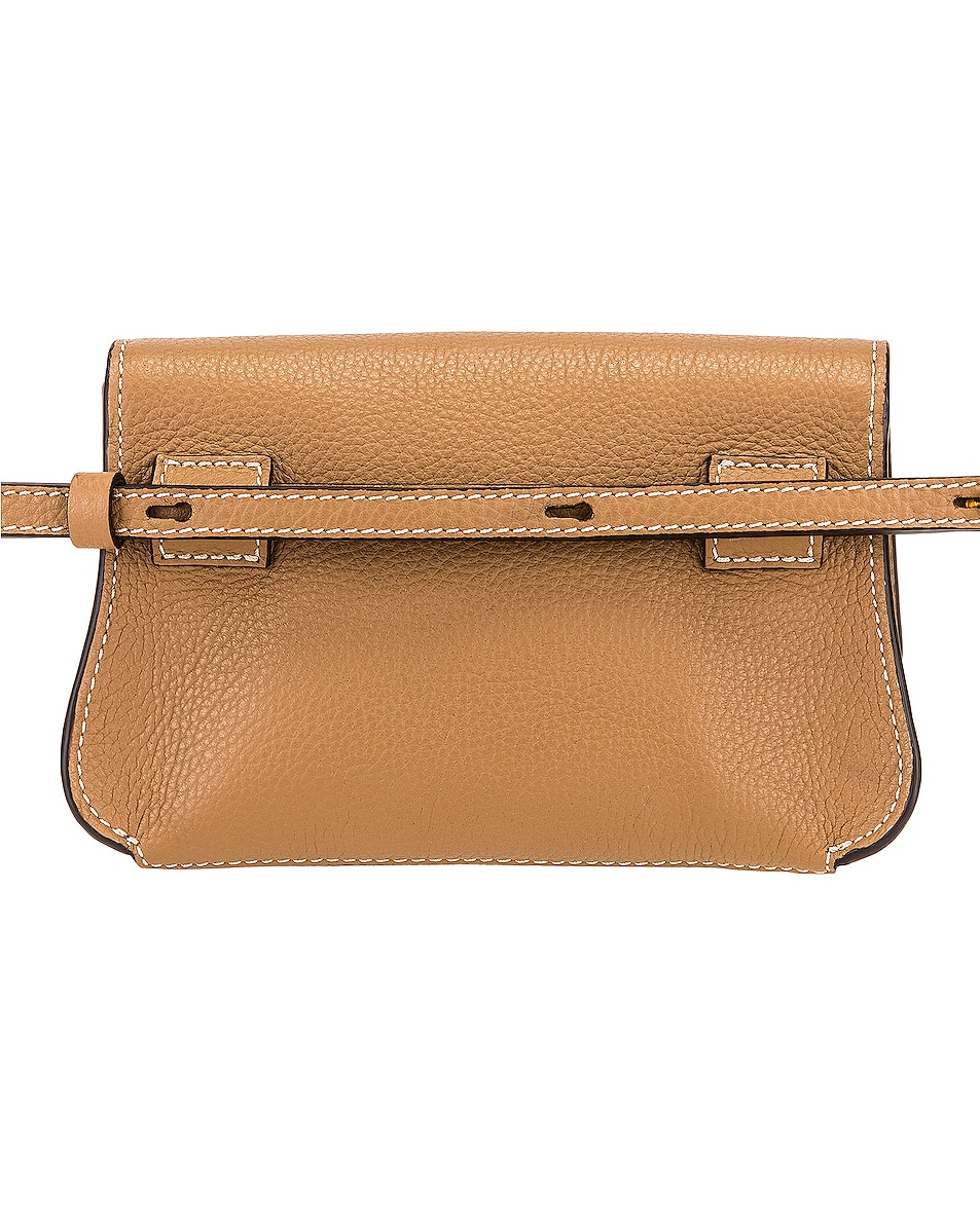Image 3 of Chloe Marcie Belt Bag in Nut