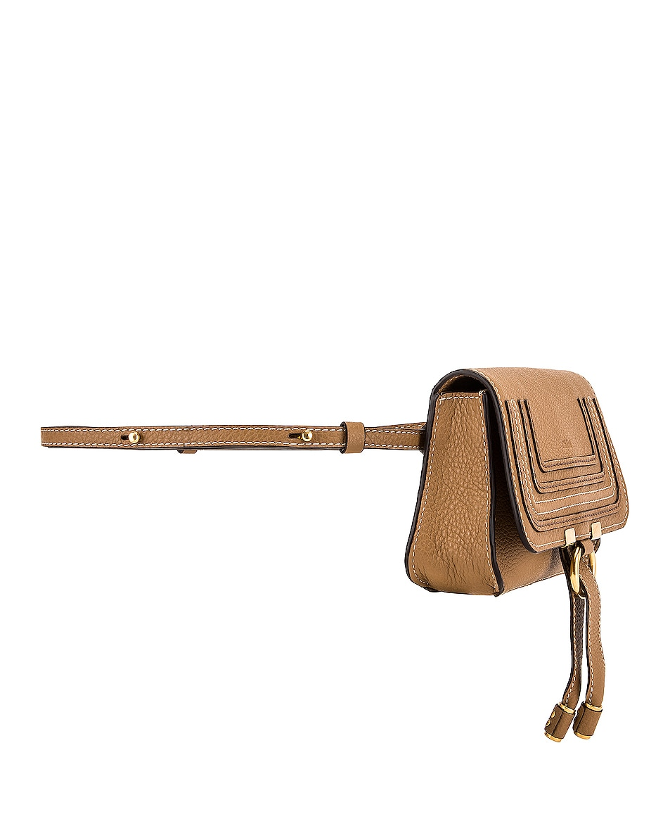 Image 4 of Chloe Marcie Belt Bag in Nut