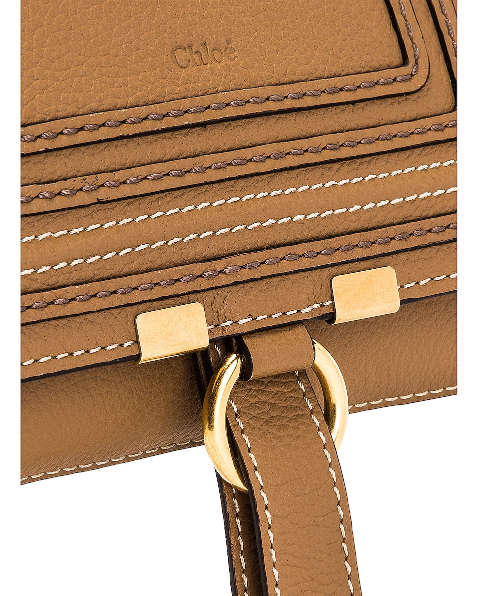 Image 7 of Chloe Marcie Belt Bag in Nut