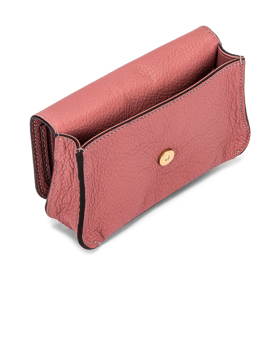 Image 5 of Chloe Marcie Belt Bag in Rusty Pink