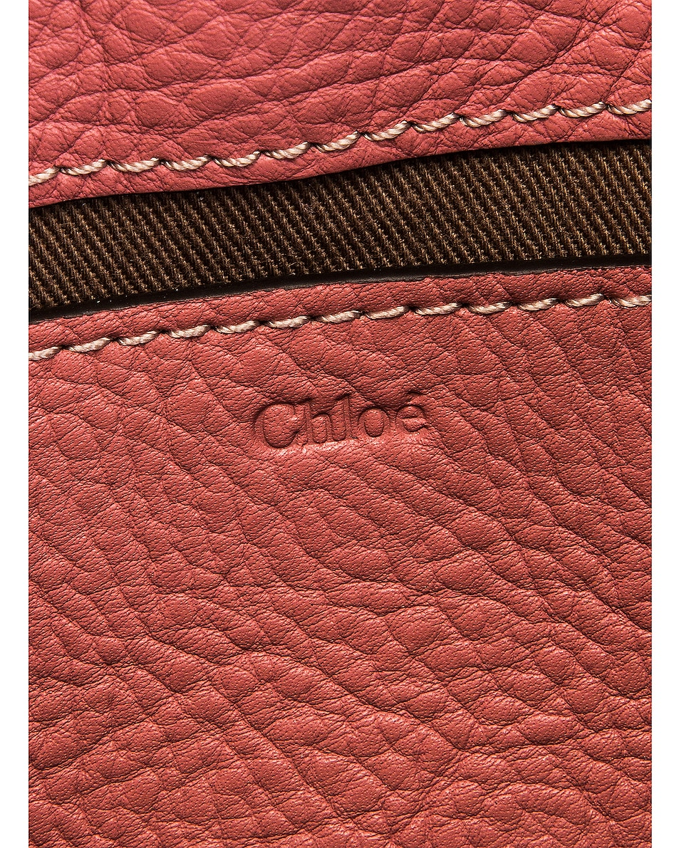 Image 6 of Chloe Marcie Belt Bag in Rusty Pink