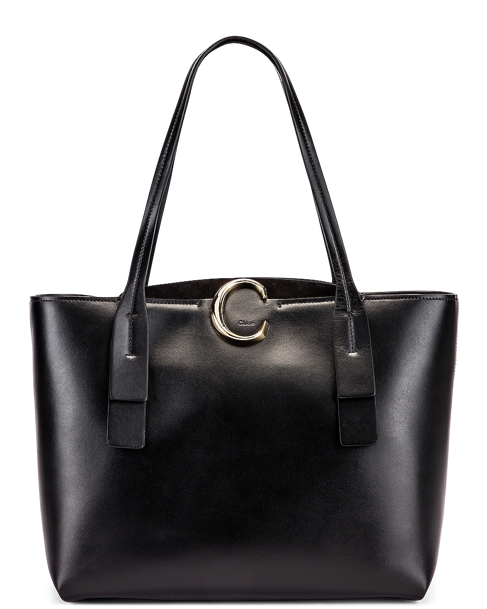 Image 1 of Chloe C Tote in Black