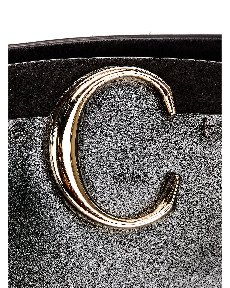 Image 6 of Chloe C Tote in Black