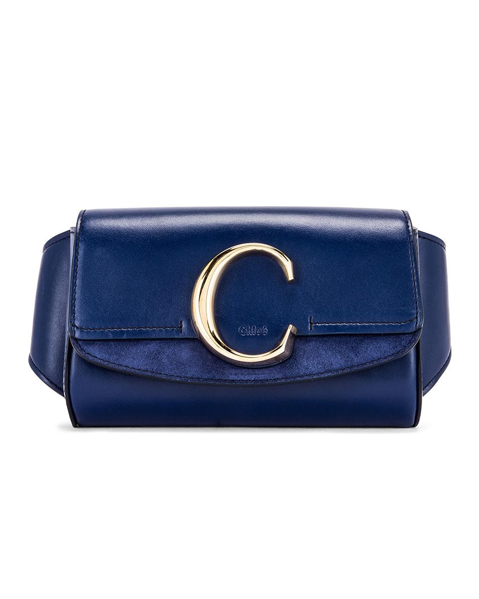 Image 1 of Chloe C Belt Bag in Captive Blue