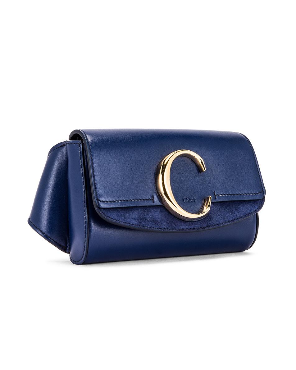Image 4 of Chloe C Belt Bag in Captive Blue