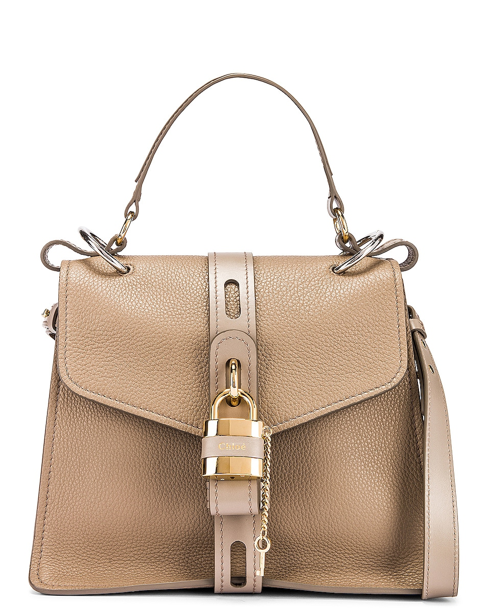 Image 1 of Chloe Medium Aby Day Bag in Motty Grey