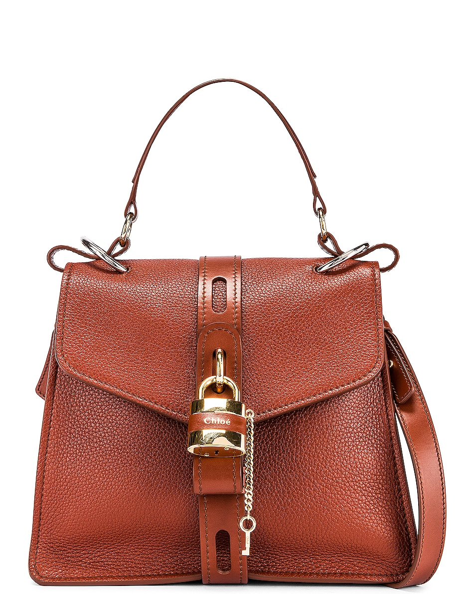Image 1 of Chloe Medium Aby Day Bag in Sepia Brown