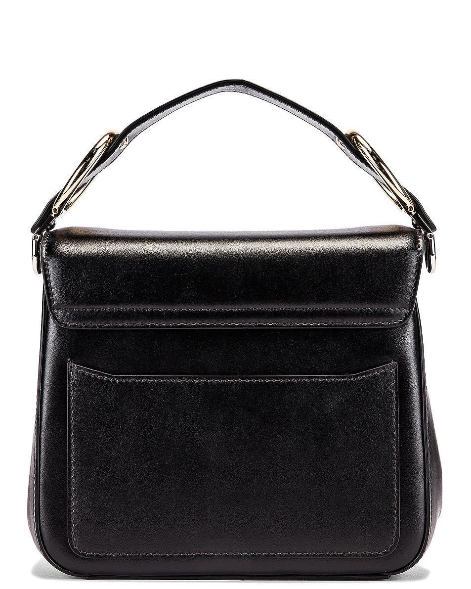 Image 3 of Chloe Small C Box Bag in Black