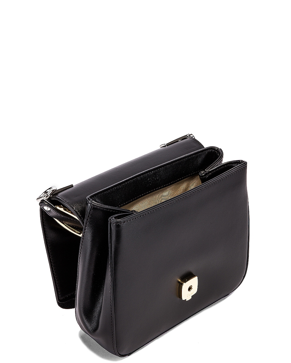 Image 5 of Chloe Small C Box Bag in Black