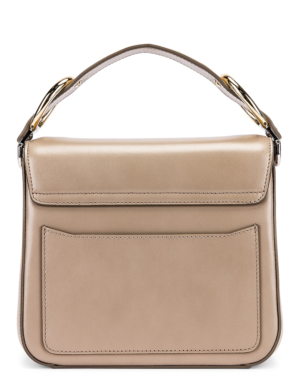 Image 3 of Chloe Small C Box Bag in Motty Grey
