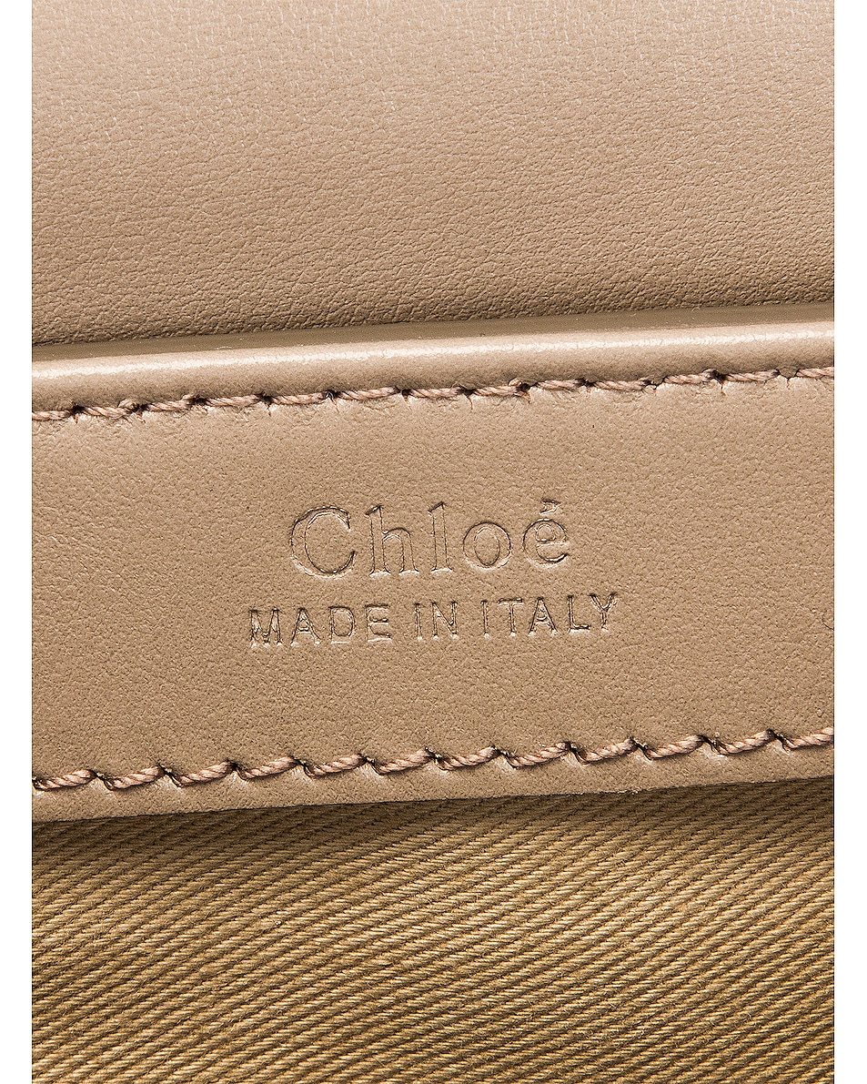 Image 7 of Chloe Small C Box Bag in Motty Grey