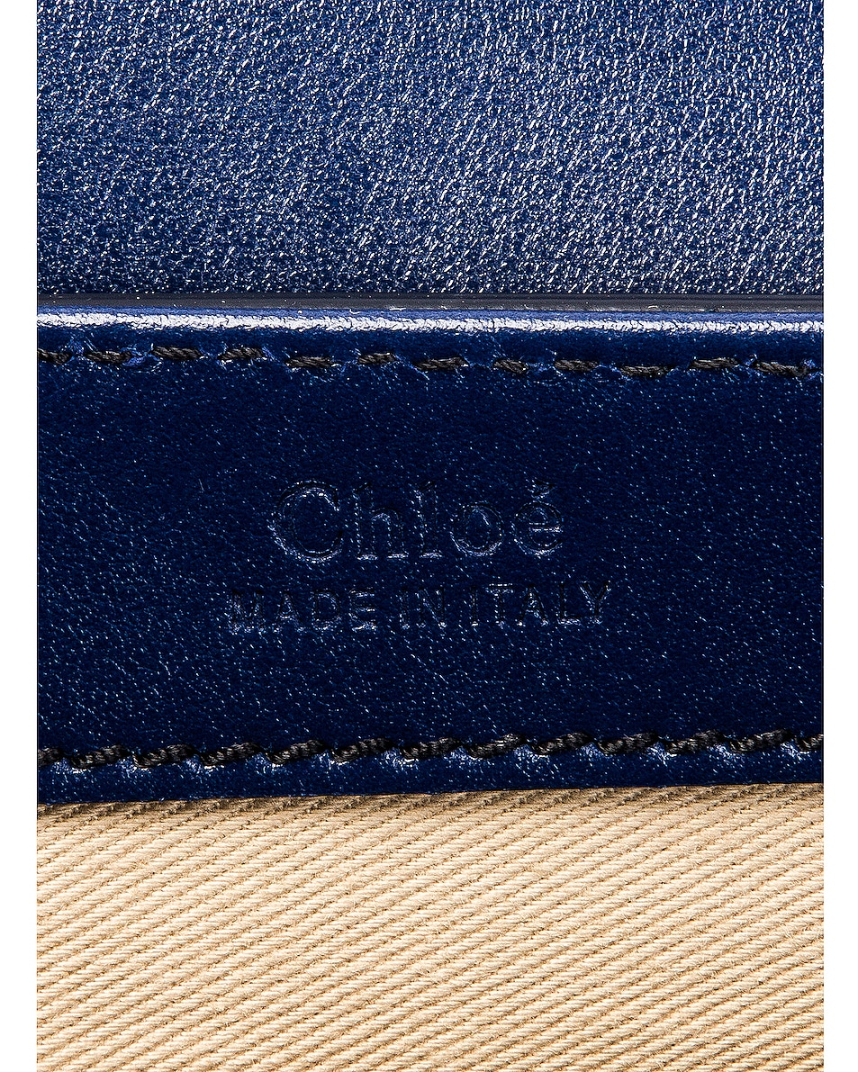 Image 7 of Chloe Small C Box Bag in Captive Blue