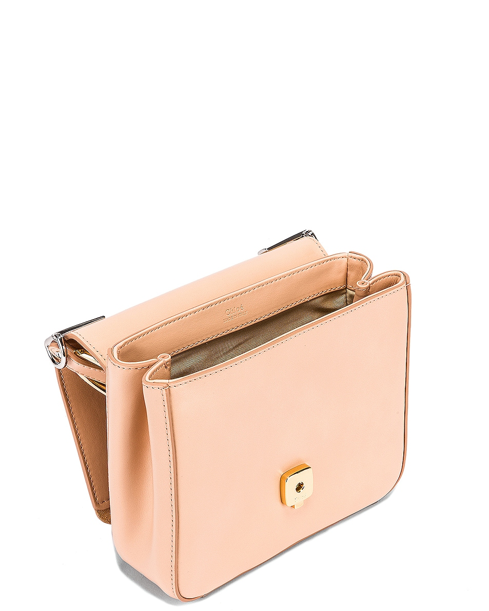 Image 5 of Chloe Small C Box Bag in Delicate Pink