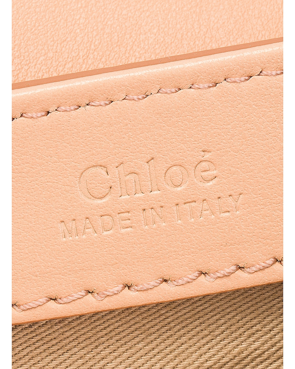 Image 7 of Chloe Small C Box Bag in Delicate Pink
