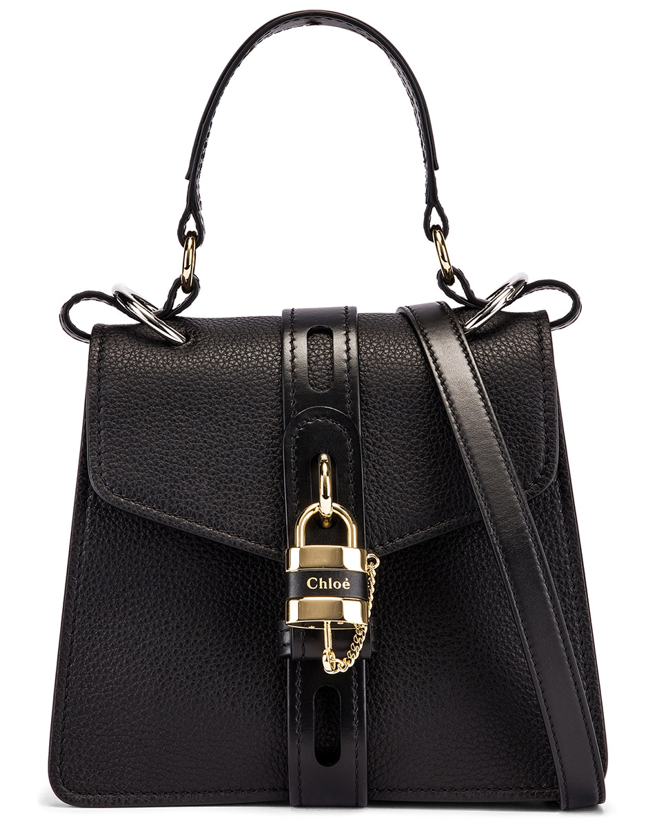 Image 1 of Chloe Small Aby Day Bag in Black