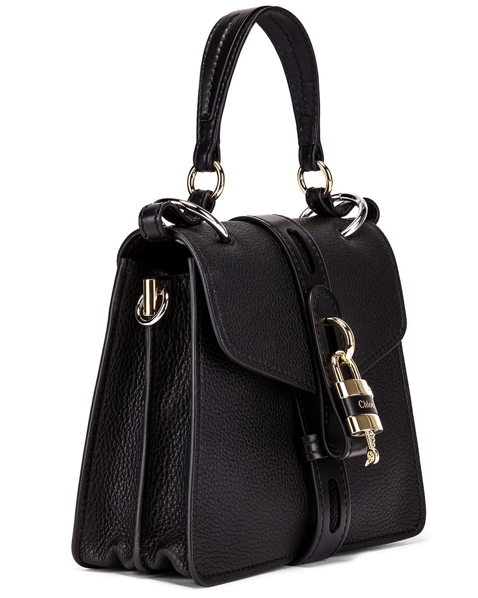 Image 4 of Chloe Small Aby Day Bag in Black
