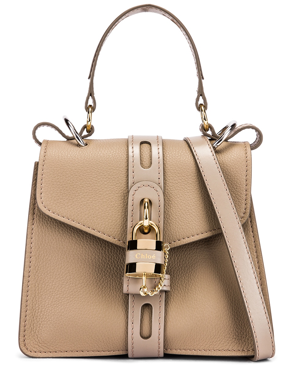 Image 1 of Chloe Small Aby Day Bag in Motty Grey