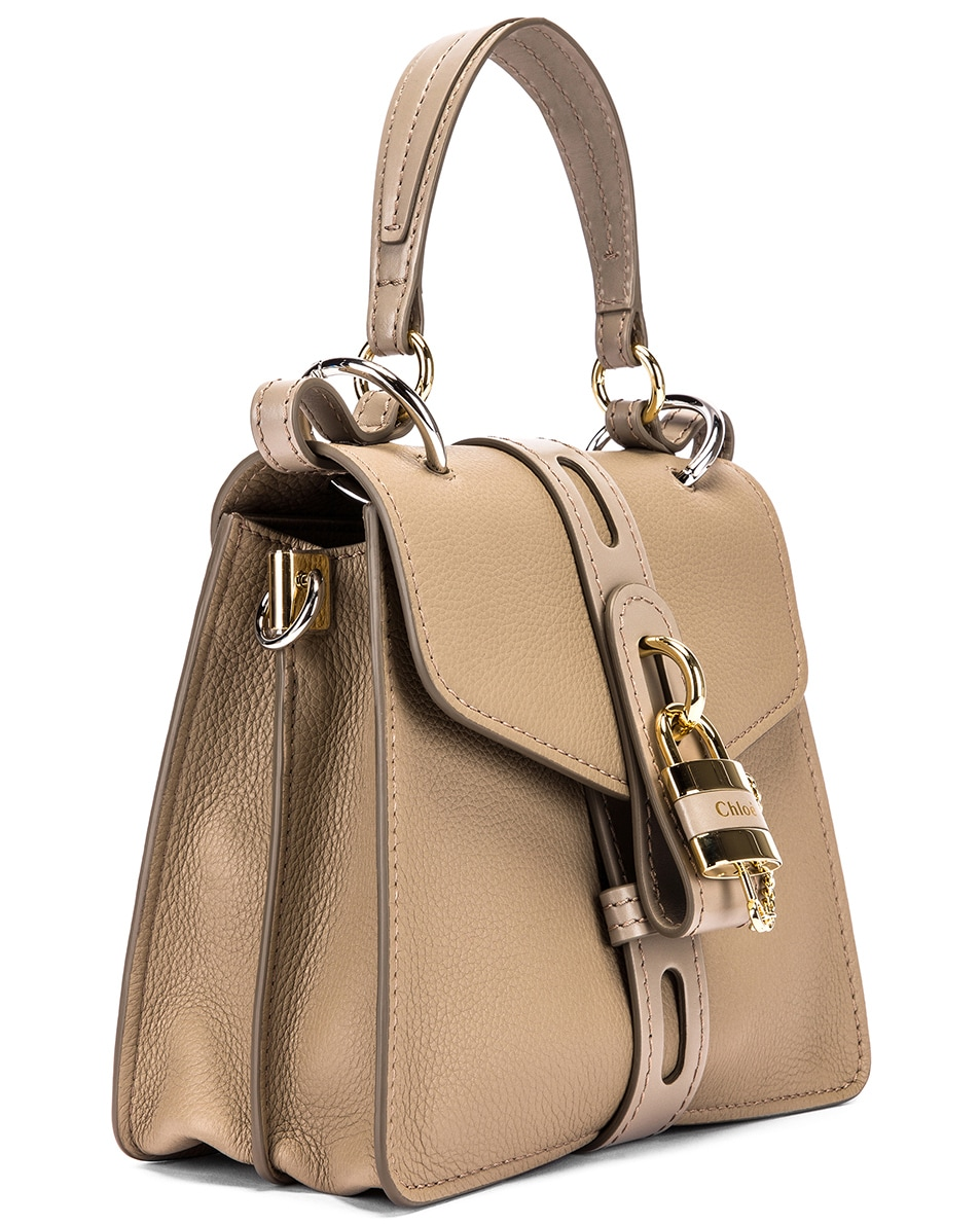Image 4 of Chloe Small Aby Day Bag in Motty Grey