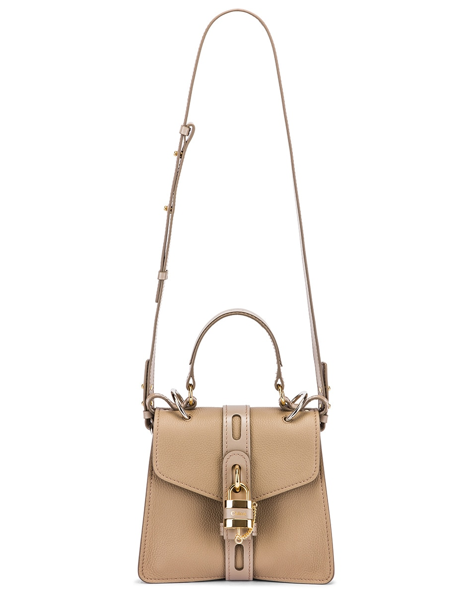Image 6 of Chloe Small Aby Day Bag in Motty Grey