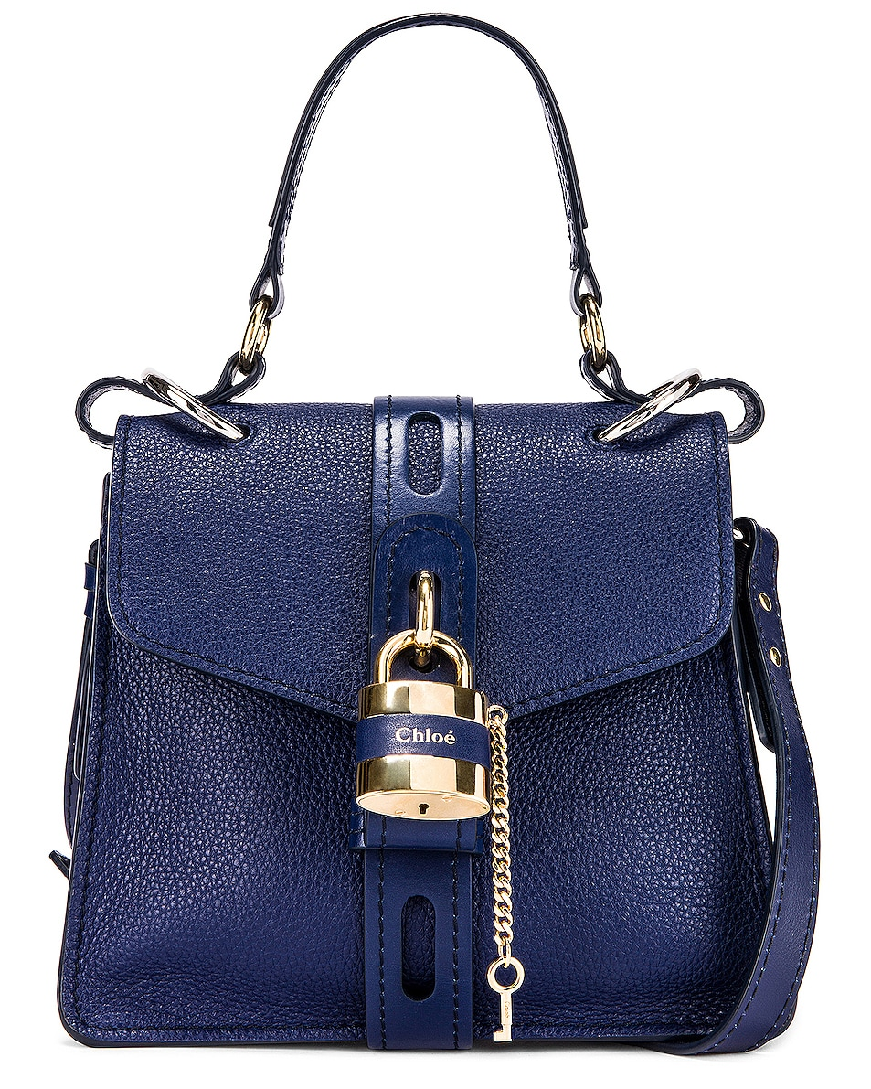 Image 1 of Chloe Small Aby Day Bag in Captive Blue