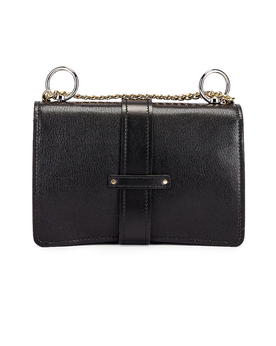 Image 2 of Chloe Aby Chain Shoulder Bag in Black