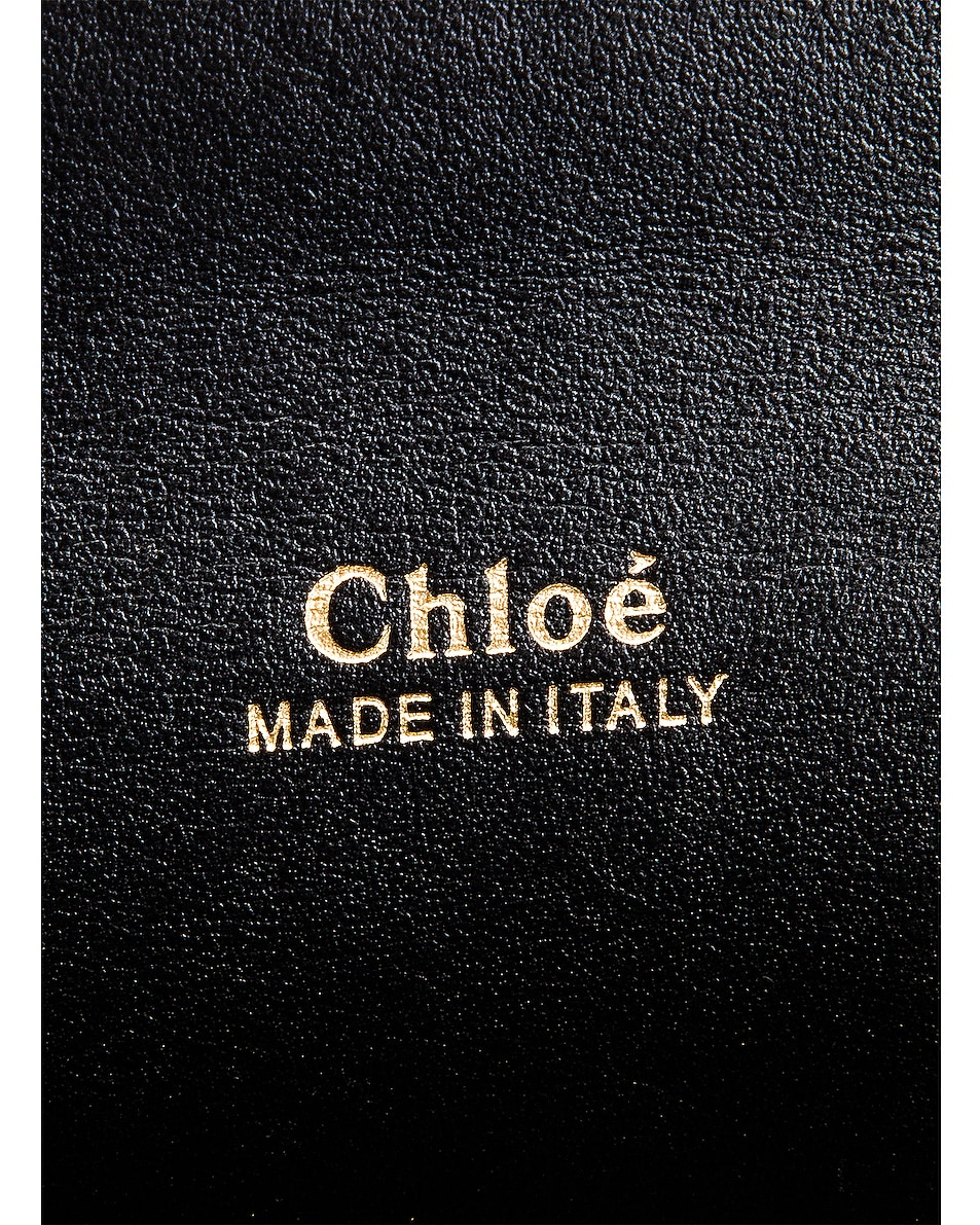 Image 6 of Chloe Aby Chain Shoulder Bag in Black