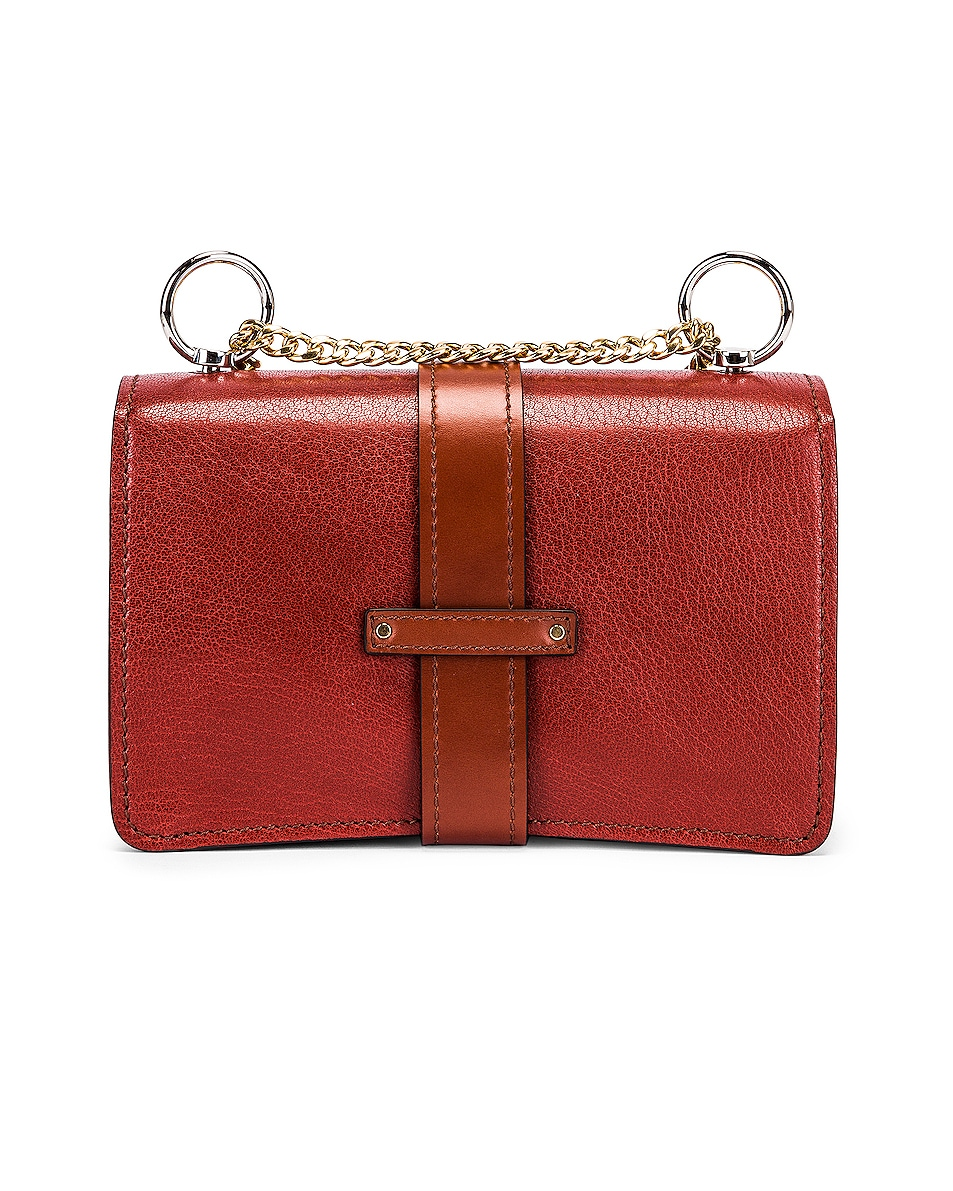 Image 2 of Chloe Aby Chain Shoulder Bag in Sepia Brown