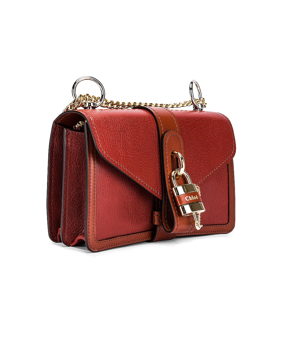 Image 3 of Chloe Aby Chain Shoulder Bag in Sepia Brown