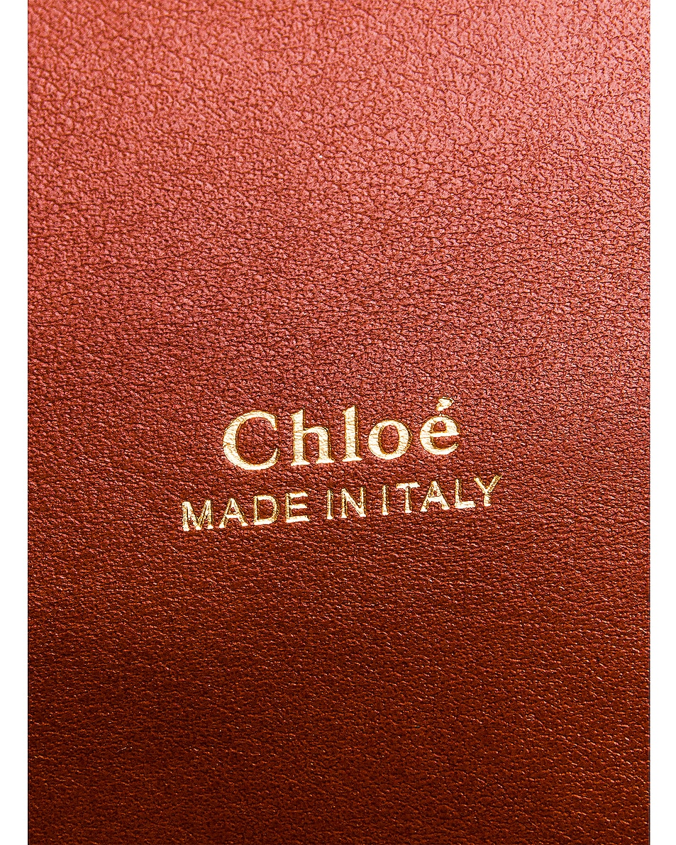 Image 6 of Chloe Aby Chain Shoulder Bag in Sepia Brown