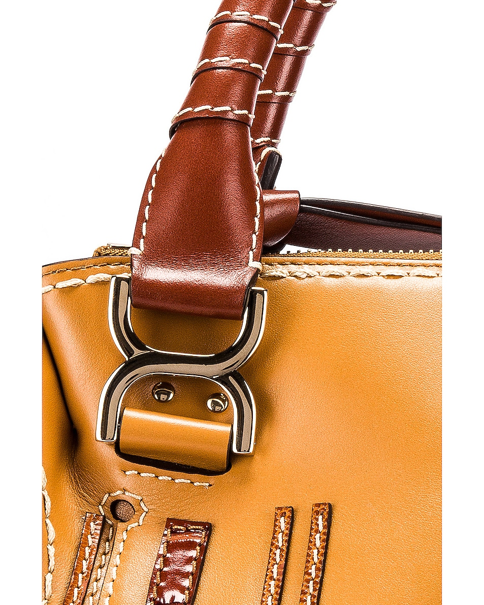 Image 4 of Chloe Medium Marcie Double Carry Bag in Autumnal Brown