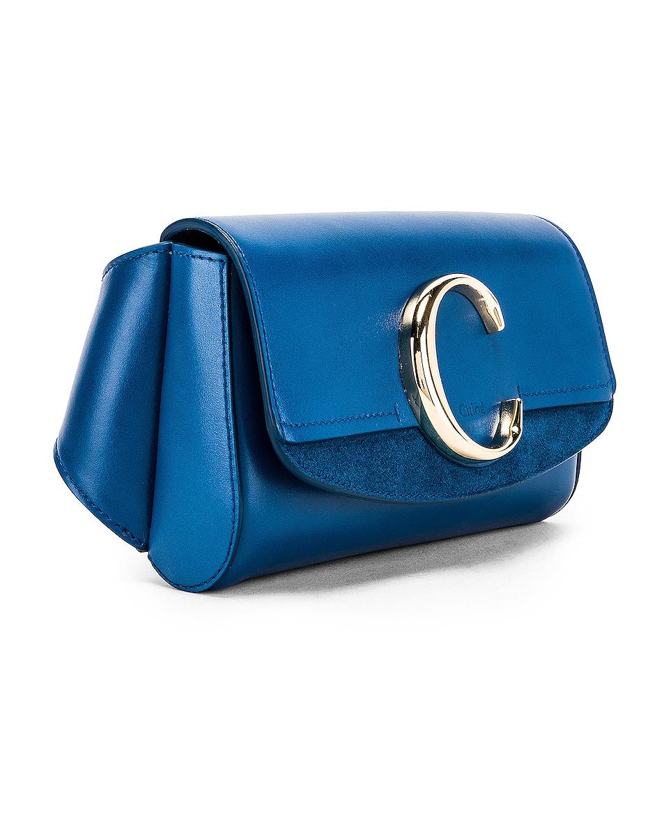 Image 3 of Chloe C Belt Bag in Smoky Blue