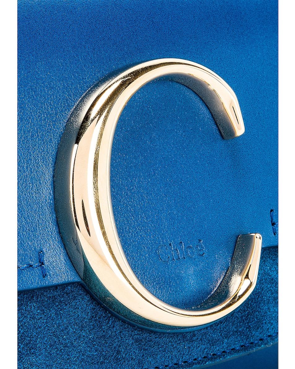Image 6 of Chloe C Belt Bag in Smoky Blue