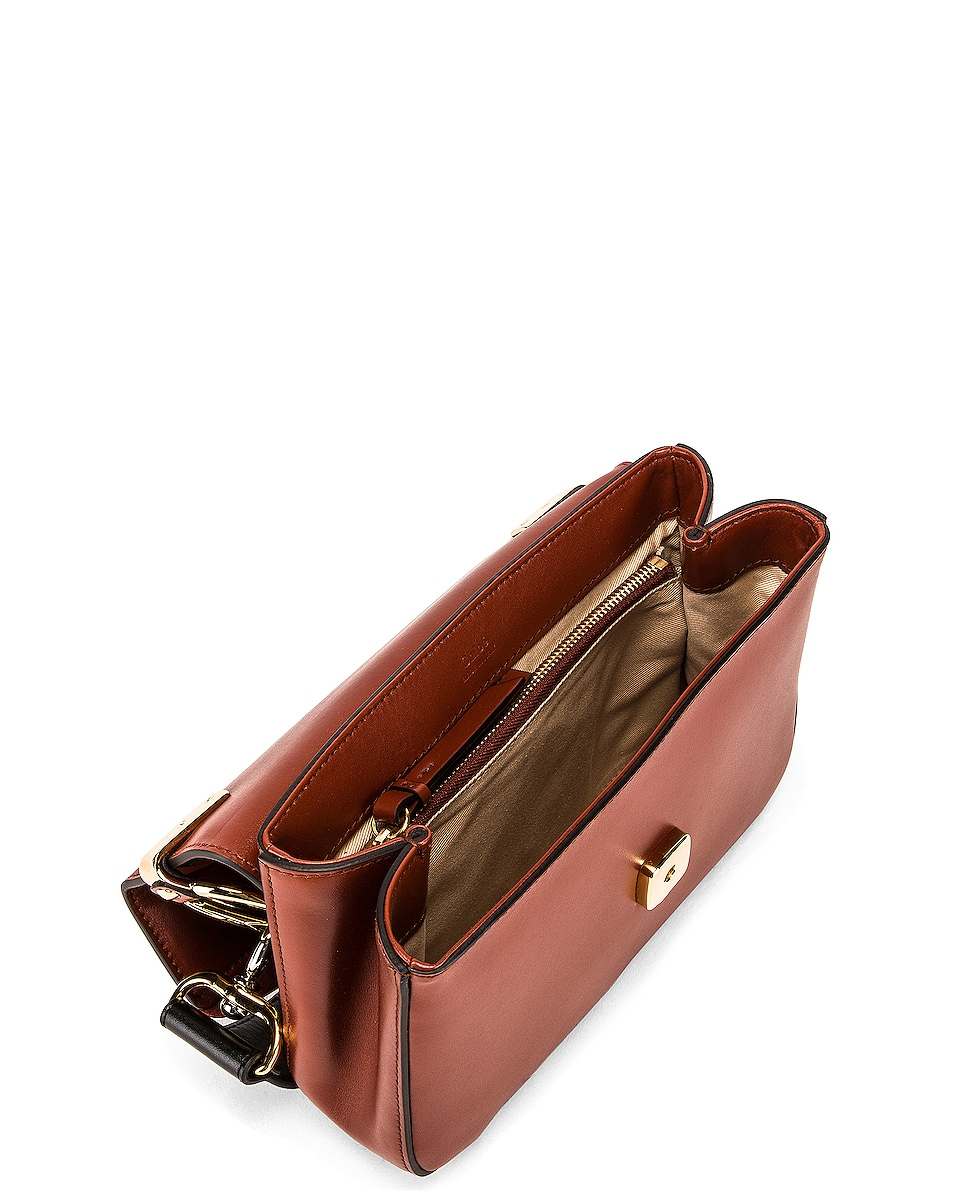 Image 5 of Chloe C Crossbody Bag in Sepia Brown