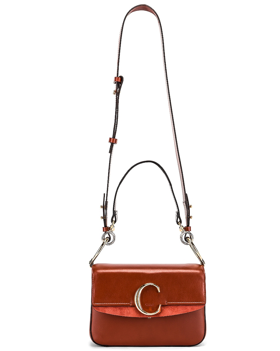 Image 6 of Chloe C Crossbody Bag in Sepia Brown
