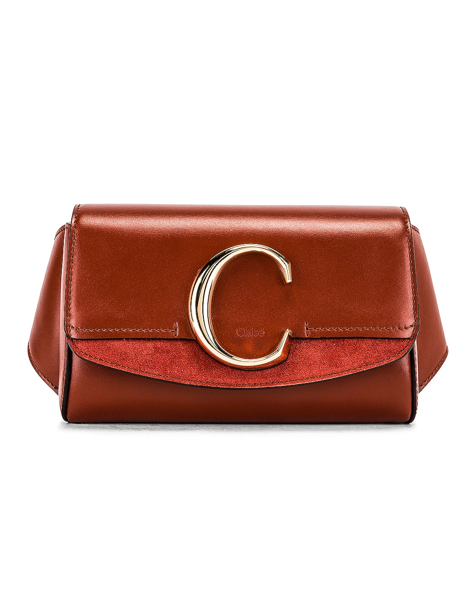 Image 1 of Chloe C Belt Bag in Sepia Brown