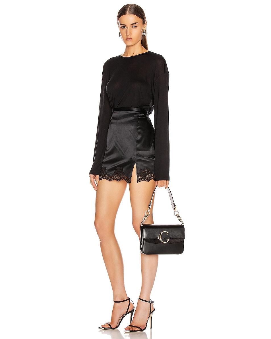 Image 2 of Chloe C Crossbody Bag in Black