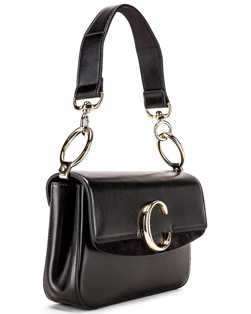 Image 4 of Chloe C Crossbody Bag in Black
