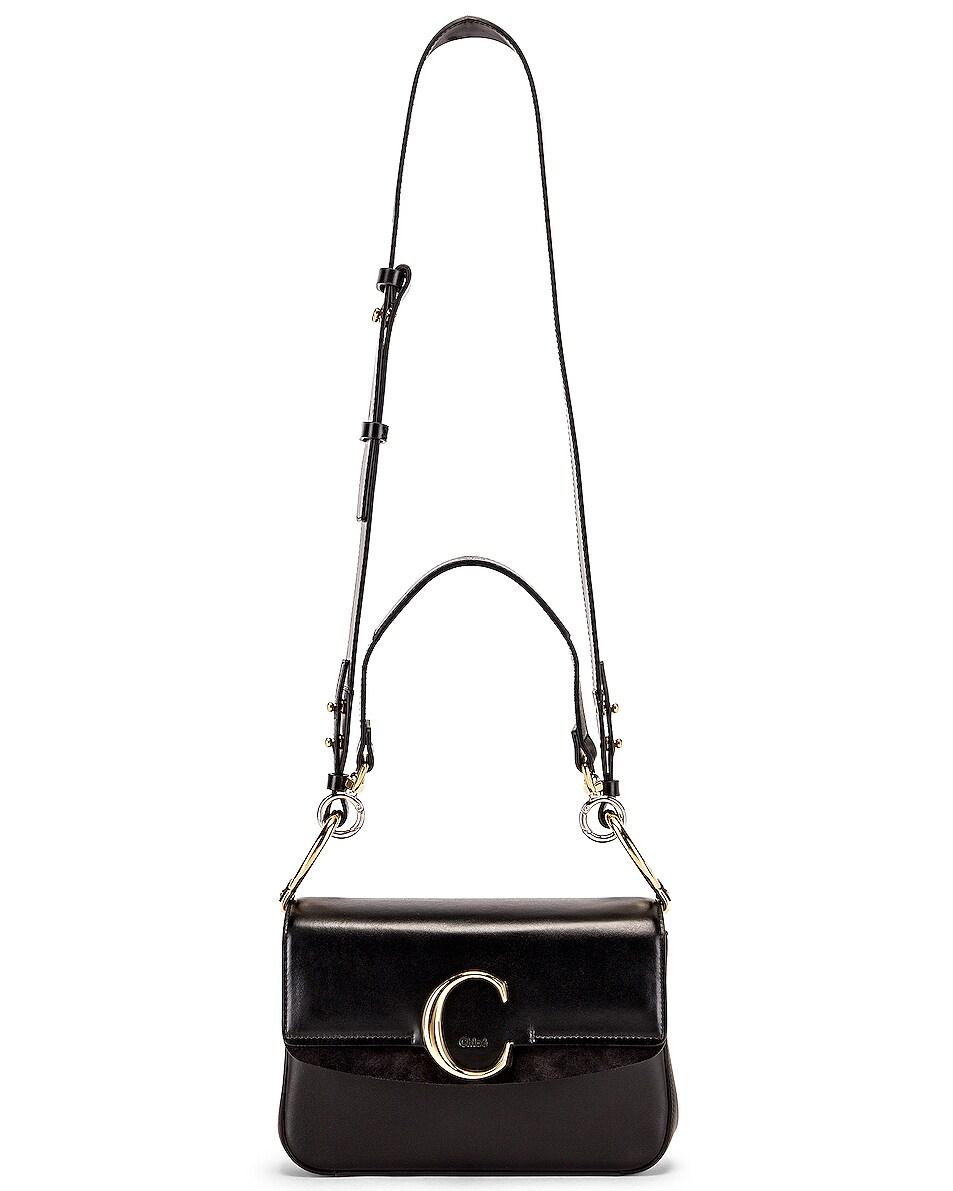 Image 6 of Chloe C Crossbody Bag in Black