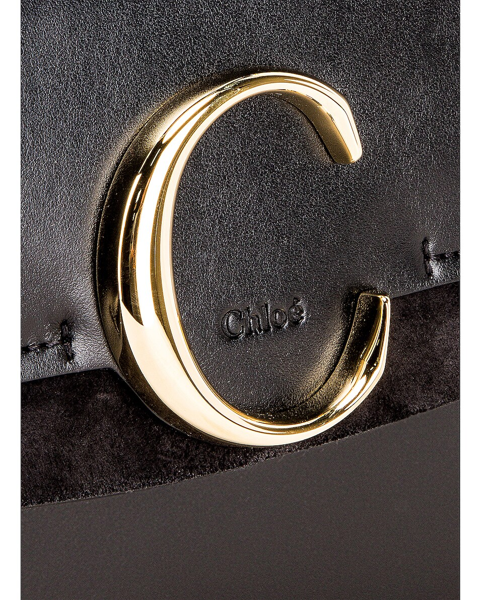 Image 8 of Chloe C Crossbody Bag in Black